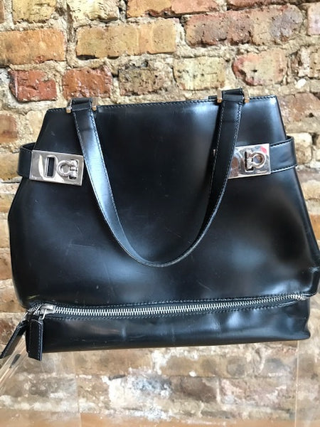 Salvatore Ferragamo Black Purse