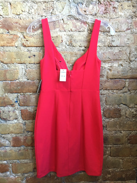 Holiday Red Express Cocktail Dress, size 0