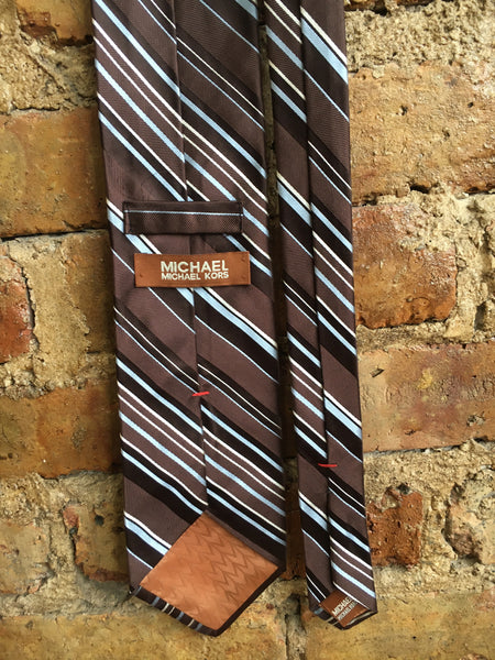 Michael Kors Brown Palette Necktie
