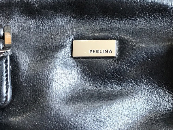 Perlina Black Purse