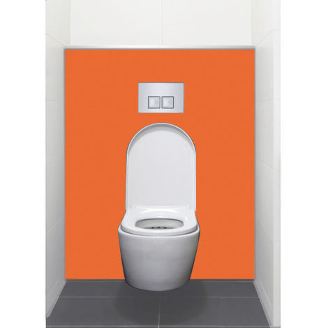 Habillage Bâti support pour WC suspendu -  Orange S027