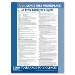 Violence Free Workplace Poster