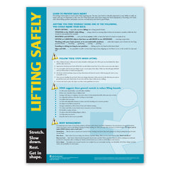 Lifting Safety Poster