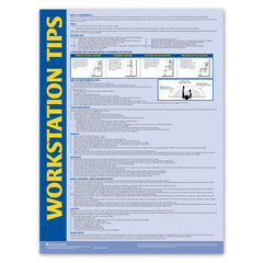 Workstation Safety Tips Poster