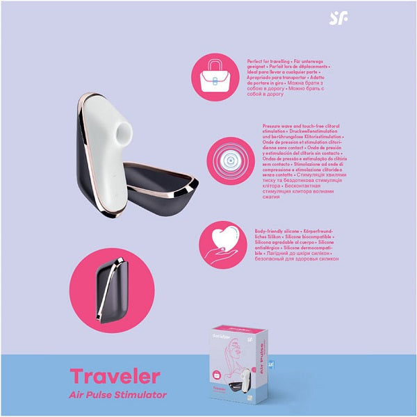 SATISFYER PRO TRAVELER RECHARGEABLE
