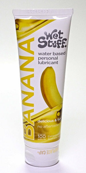 WET STUFF BANANA TUBE 100G