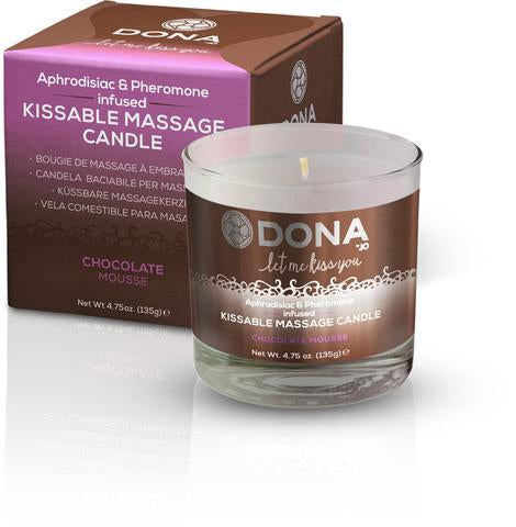 DONA APHRODISIAC & PHEROMONE INFUSED KISSABLE CANDLE