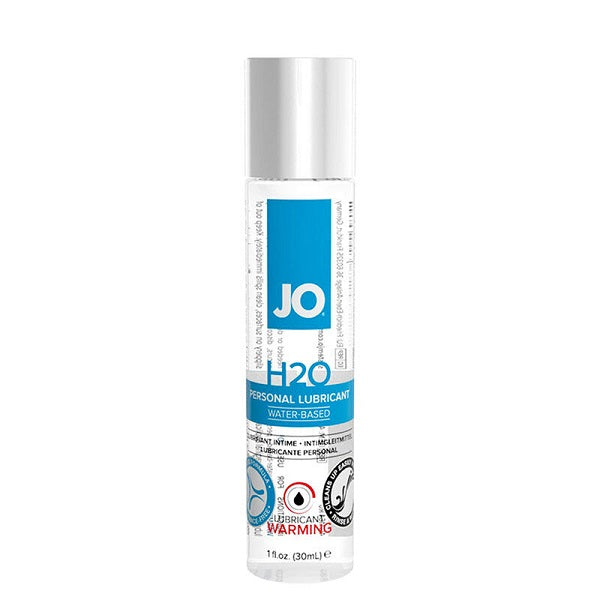 JO H2O WATER BASED WARMING LUBRICANT 30ML
