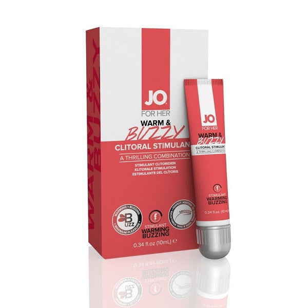 JO CLITORAL GEL WARM & BUZZY 10ML