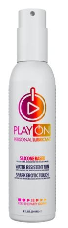 PLAY ON PERSONAL LUBRICANT SILICONE BASED 240ML