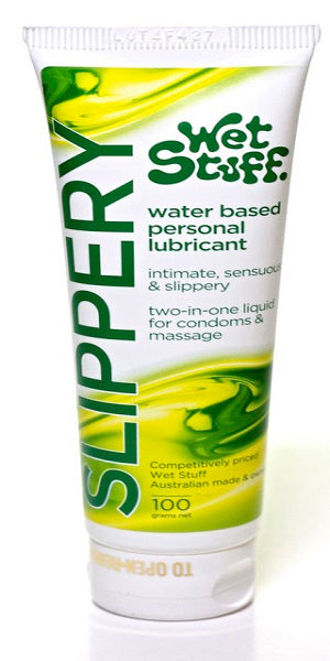WET STUFF SLIPPERY TUBE 100G