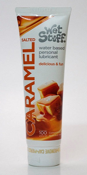WET STUFF SALTED CARAMEL TUBE 100G