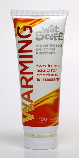 WET STUFF WARMING LUBRICANT 100G