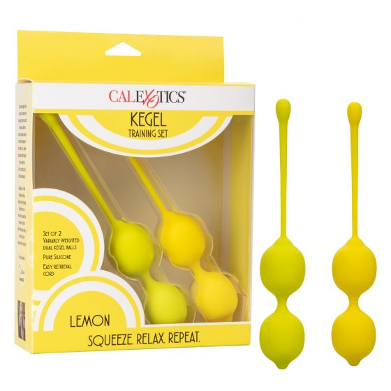 KEGEL TRAINING SET LEMON