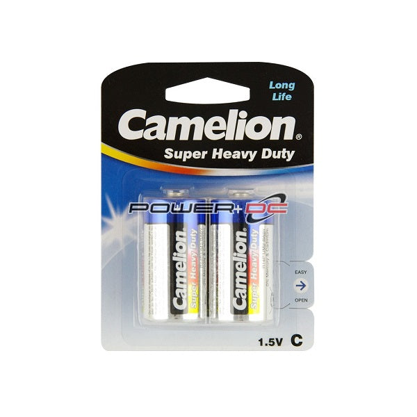 CAMELION SUPER HEAVY DUTY BATTERIES C