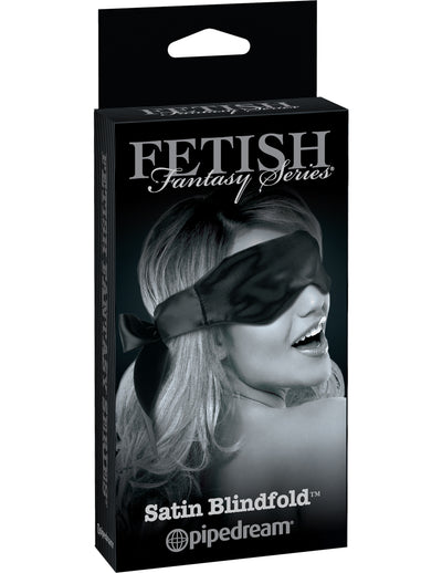 FETISH FANTASY LIMITED EDITION SATIN BLINDFOLD BLACK