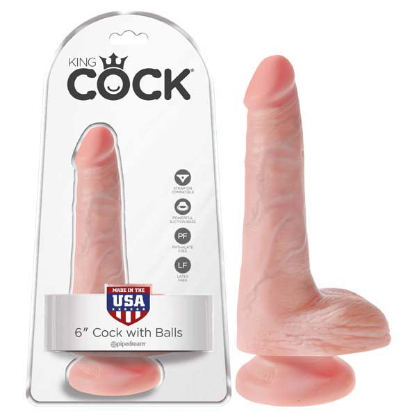 KING COCK WITH BALLS FLESH
