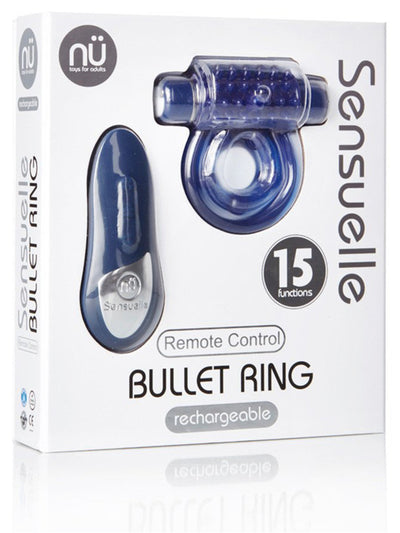 SENSUELLE REMOTE CONTROL BULLET RING