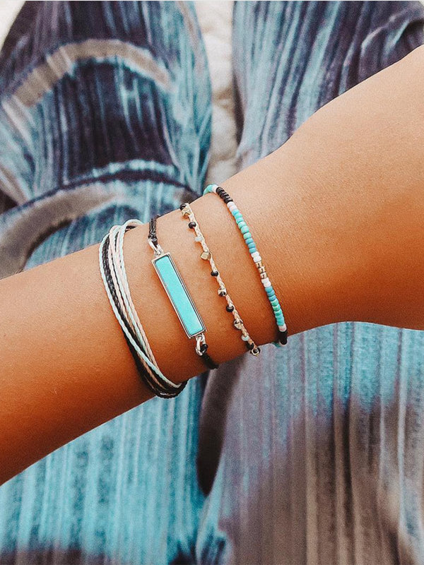 Multicolor Casual Alloy Bracelets