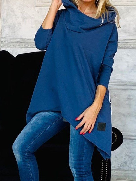 Hoodied Pull over Top