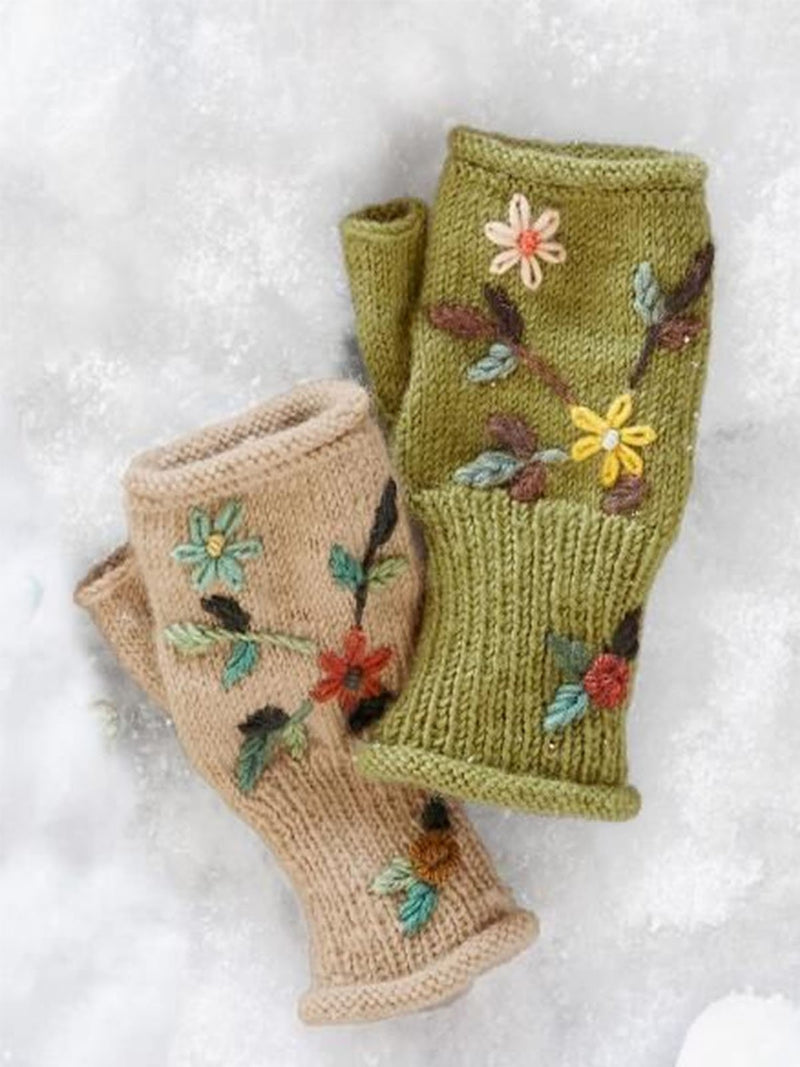 Floral Sweet Gloves & Mittens