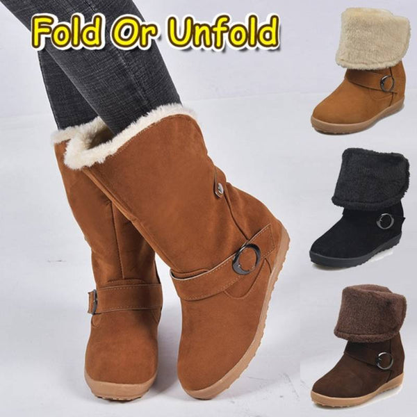 Plus Size Daily Women Warm Anti Slip Waterproof Snow Winter Boots