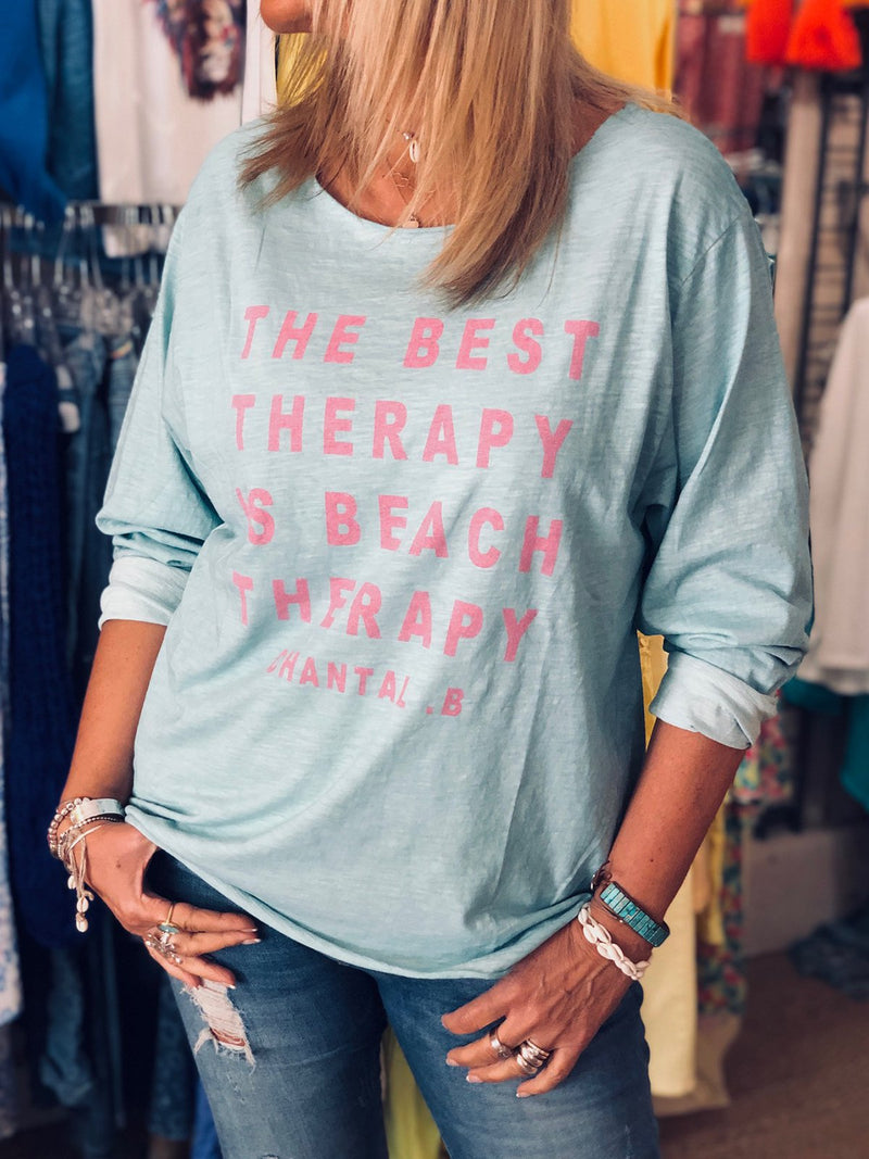 Casual Long Sleeve Letter T-shirt