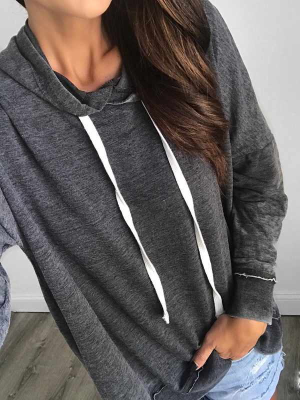 Plus size Long Sleeve Hoodies