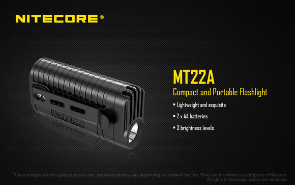 MT22A AA POWERED MINI LIGHT