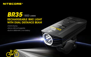 BR35 Dual Beam Bike Light