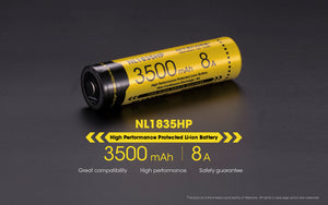 NL1835HP 3500mAh 8A 18650 BATTERY