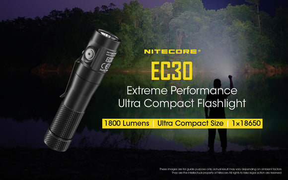 EC30 1800LUMENS COMPACT EDC LIGHT