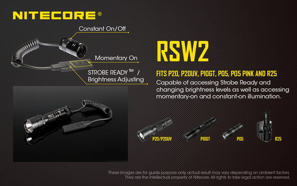 RSW2 NITECORE PRESSURE SWITCH