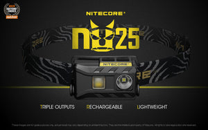 NU25 (NOW AVAILABLE IN BLACK, WHITE, & YELLOW)