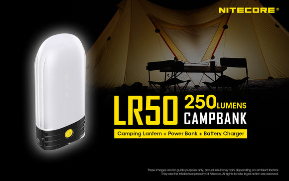 LR50 Powerbank & Lantern