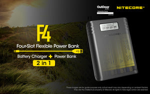 F4 Powerbank & Charger