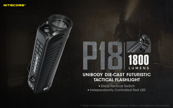 P18 1800 Lumens with Red Light