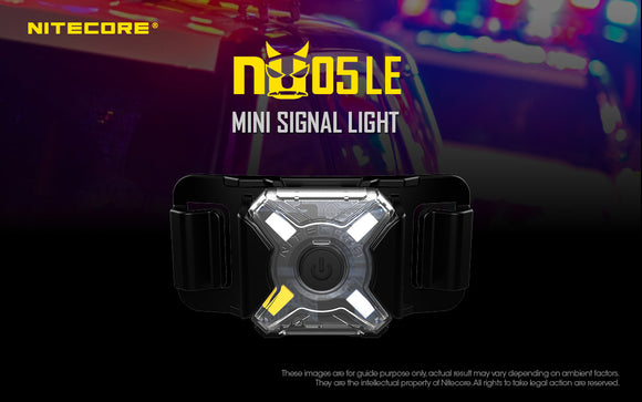 NU05 LE Multi-Color Safety Light