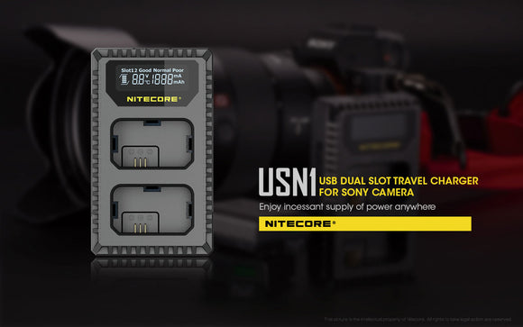 USN1 Sony Charger For NP-FW50