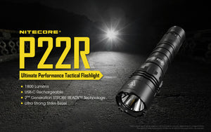 P22R 1800 Lumens *Strobe Ready* Battery Included