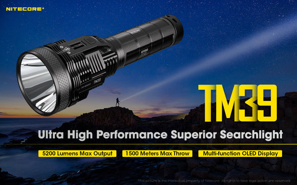 TM39 5200 Lumens 1500Meter Throw
