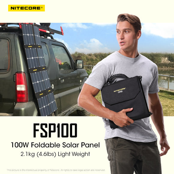 FSP100 100w Solar Panel * Available for Pre-order*