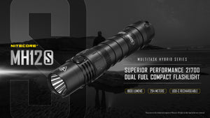 MH12S 1800 Lumens 21700 Battery Included