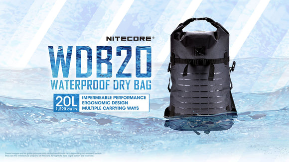 WDB20 20L Waterproof Dry Bag 20L