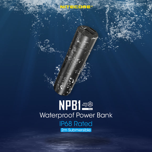 NPB1 5,000mAh Waterproof Powerbank