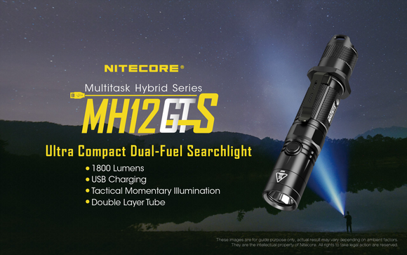 MH12GTS 1800 LUMENS (Clearance Sale!)