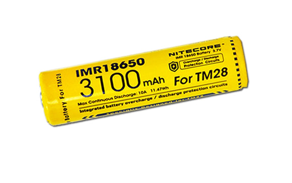 IMR18650 3100mAh 10A DEDICATED BATTERY FOR TM28 ONLY