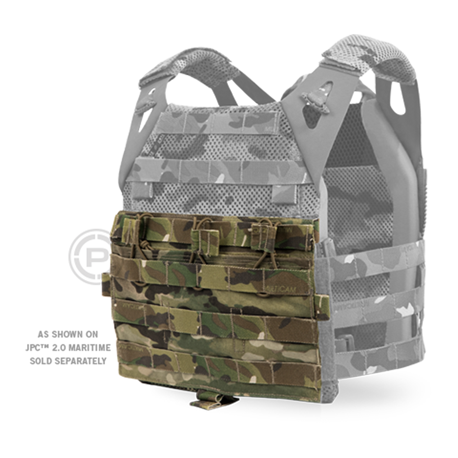 Crye (AVS)™ Detachable Flap, M4 Flat config