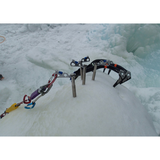 Black Diamond® Express Ice Screw(s) in use
