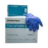 Forcefield Trioforce Nitrile Disposable Examination Gloves, (1000 gloves / 500 pairs)